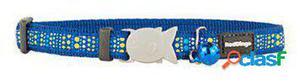 Red Dingo Collar para Gatos Dotz Azul 300 GR