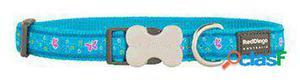 Red Dingo Collar para Perros Butterfly Turquesa XL 300 GR