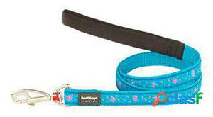 Red Dingo Correa para Perros Butterfly Turquesa M 300 GR