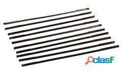 Silverline Cuchillas para sierra caladora de banco 130mm, 10