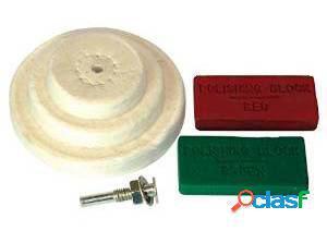 Silverline Juego de accesorios para pulido 6 piezas