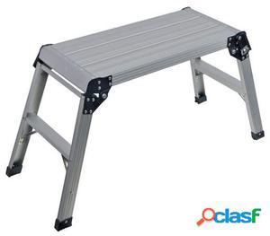 Silverline Plataforma de aluminio Capacidad 150 kg