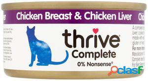 Thrive Comida Humeda para Gatos 100% Higado y Pollo 75 GR