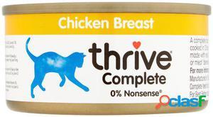Thrive Comida Humeda para Gatos 100% Pechuga de Pollo 75 GR