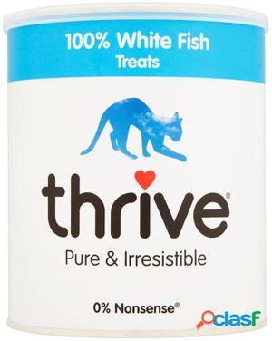 Thrive Trozos 100% de Pescado Blanco Maxi para Gatos 120 GR