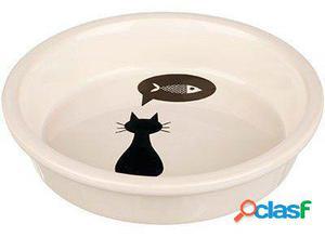 Trixie Comedero para Gatos de Cerámica Blanco 500 GR