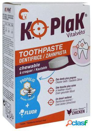Vitalvéto K.O Plak Toothpaste Tablets Dog 96 gr