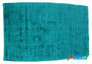 Wellindal Alfombra Rectangular Azul