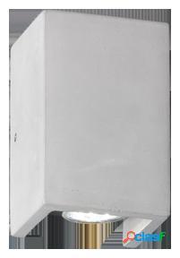 Wellindal Aplique Aplique Cube 2xGU10 10x10cm