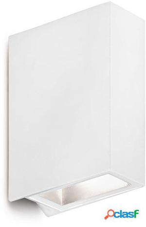 Wellindal Aplique Crata Blanco Mate 2 Led 3W Led