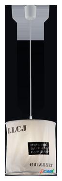Wellindal Colgante Bag 1xE27 max 60w