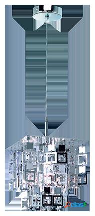Wellindal Colgante Quadrato 1xE27 max 60w