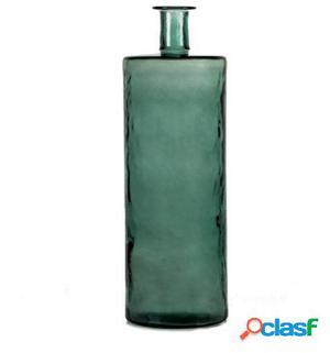 Wellindal Jarrón 25X75 Cristal Verde