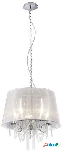 Wellindal Lámpara de techo Chiara 5xE14 max 40w