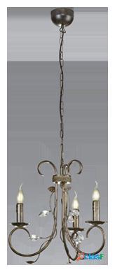 Wellindal Lámpara de techo Classy 3xE14 max 40w