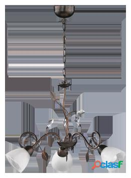 Wellindal Lámpara de techo Traditio 3xE14 max 40w