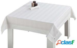 Wellindal Mantel aplique amelia sin servilletas 155x155 cm