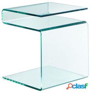 Wellindal Mesa Selena Cristal Transparente