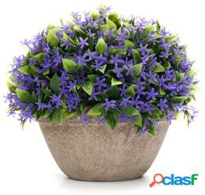 Wellindal Planta Decorativa Con Maceta Blossom-