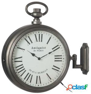 Wellindal Reloj Antiguo Led Gris