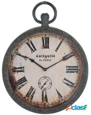 Wellindal Reloj Antique De Paris Negro-Marrón
