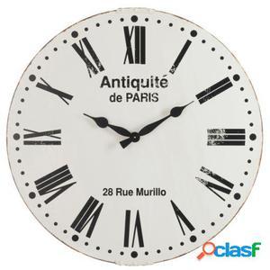 Wellindal Reloj Antique De París Blanco