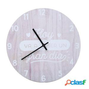 Wellindal Reloj Decorativo De Pared Gran Dóa-