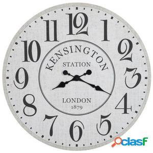 Wellindal Reloj Kensington Madera Blanco Y Negro