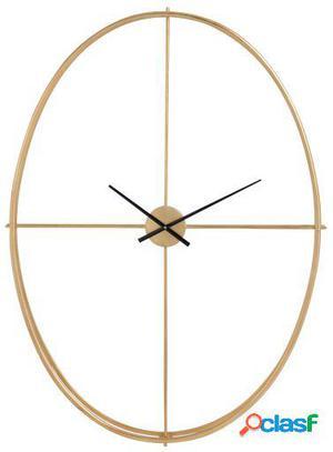 Wellindal Reloj Oval Metal Oro Large