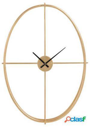 Wellindal Reloj Oval Metal Oro Small