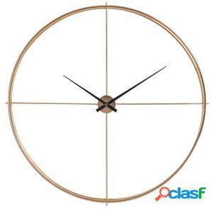 Wellindal Reloj Redondo Metal Oro