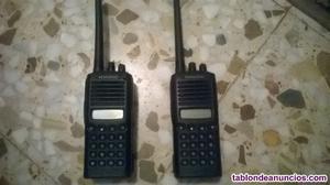 Pareja de walkies kenwood