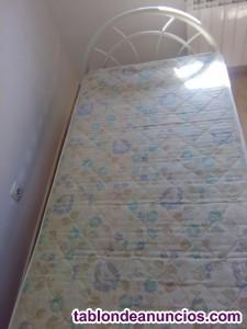 Vendo cama con colchón y somier