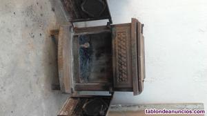 Vendo estufa de leña de hierro fundido amity