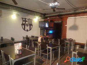 Bar en traspaso, con licencia C2 mixta en Vila de Gràcia,