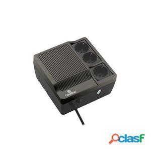 CoolBox Sai Scudo 600 negro (600Va), original de la marca