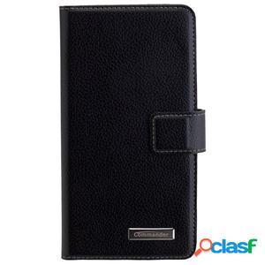 Funda tipo libro Commander para Huawei P20 Lite - negro