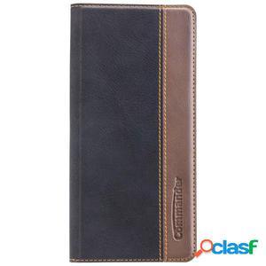 Funda tipo libro Commander para Samsung Galaxy Note 8, negra