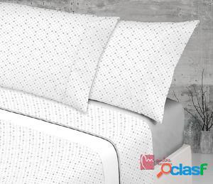 Juego de sábanas estampado algodón 100%