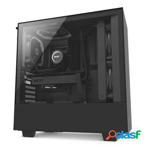 Nzxt Caja SemiTorre H500 Matte Black/Black, original de la