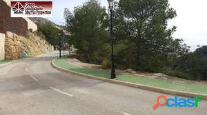 Parcela urbana en Altea Hills