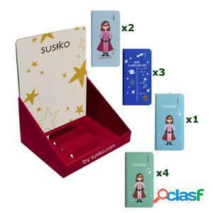 Susiko 10 PowerBank Dia Madre + Expositor, original de la
