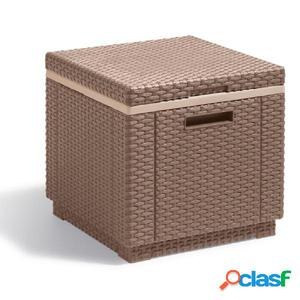Allibert Caja nevera Ice Cube capuchino 223761