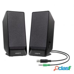 Altavoces 2.0 con usb creative a50 - jack 3.5mm - 0.8x2w -