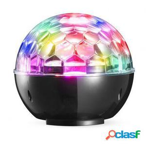 Altavoz bluetooth denver btl-65 con iluminacion disco light