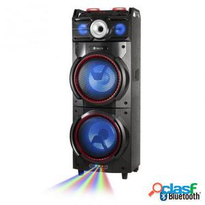 Altavoz portatil ngs premium wild techno - 500w - bt - doble