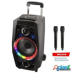 Altavoz portatil ngs wild disco - 80w - bluetooth - fm -