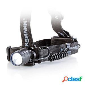 Ansmann Linterna frontal HD5 negro y plata 5819083