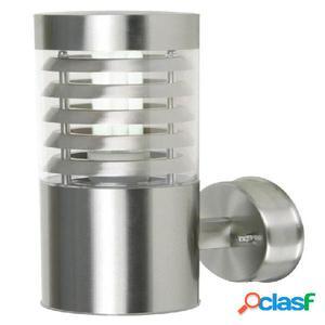 Aplique pared cilíndrico exterior acero inox Galerna E27