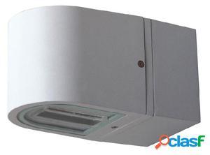 Aplique pared exterior gris Gus G12 70W IP65